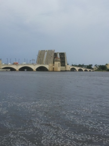 Drawbridge opened in West Palm Beach